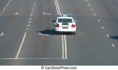 auto, -, polizei, hd, 1080
