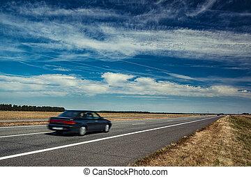 auto, reise