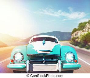 auto, retro