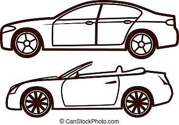 auto, sammlung