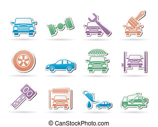 auto service and transportation