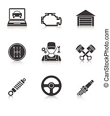 Auto Service Icons vol 2