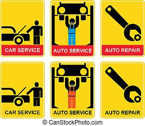 Auto service - sign