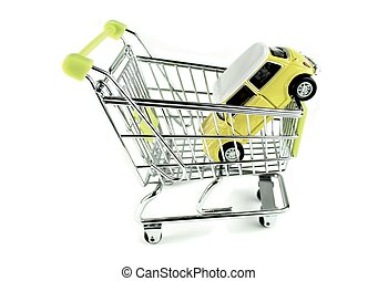 auto, shoppen