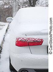 auto, sneeuw