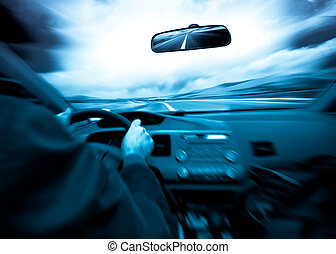 auto, snelheid