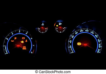 Auto speed meter