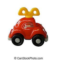 auto, speelbal, vervoeren, klee, monteurs