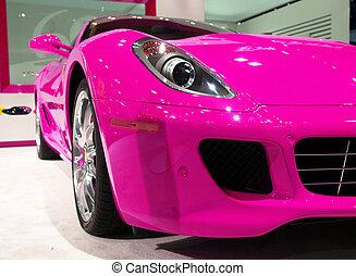 auto, sportende, luxe