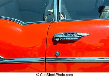 auto tür, retro