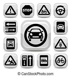 auto traffic signs