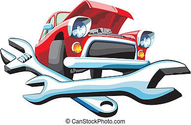 auto, vaststellen