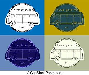 auto, vector, illustratie