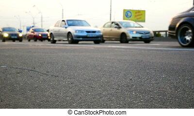 auto, verkehr, straße, landstraße