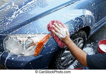 auto, wäsche
