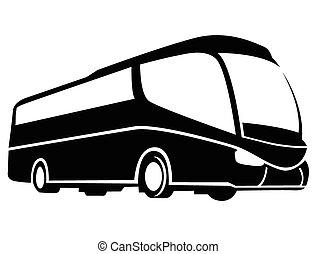 autobús, símbolo