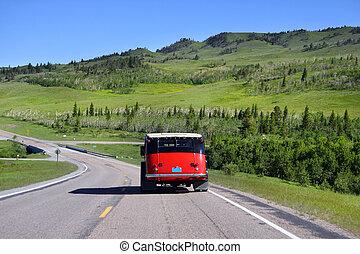 autobús, viaje