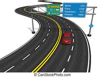 autobahn, concetto