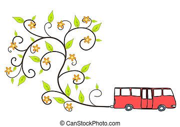 autobus, écologique