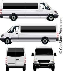 autobus, bianco
