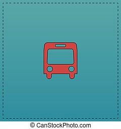 autobus computer symbol