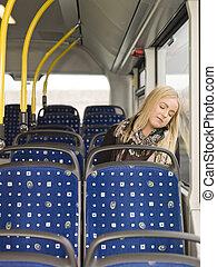 autobus, dormir