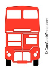 autobus, double-decker, londra