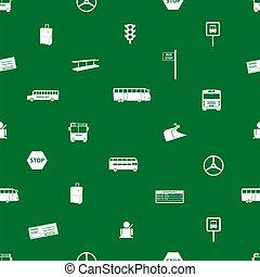 autobus, eps10, transport, modèle
