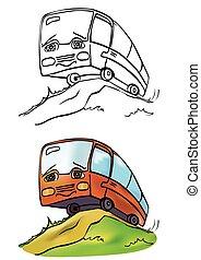 autobus, gai