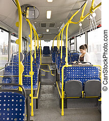 autobus, lecture