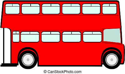 autobus, londra, rosso