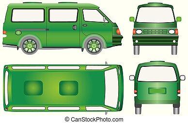 autobus, mini