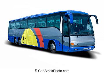 autobus, objazd