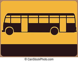 autobus, signe