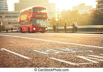 autobus, transport commun