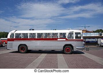 autobus, vieux