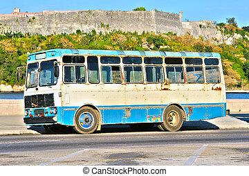 autocarro, antigas