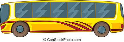 autocarro, caricatura