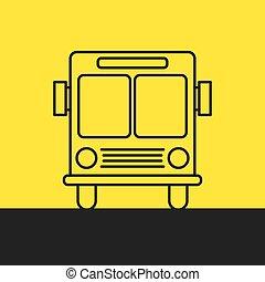 autocarro, cidade
