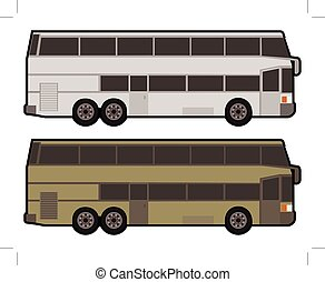 autocarro, double-decker