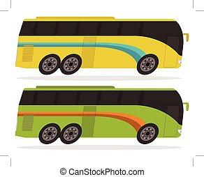 autocarro, single-decker