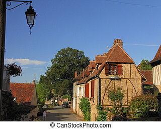 Autoire, house, village,