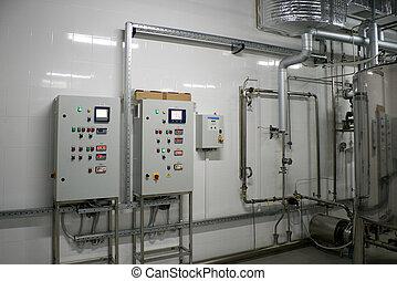 automático, agua, filtración, sistema