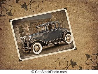 automóvel, antigas