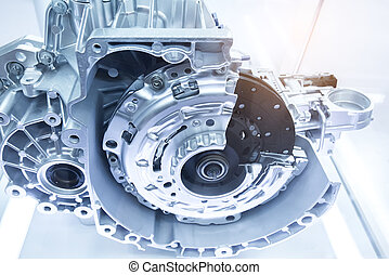 automóvel, transmissão, gearbox