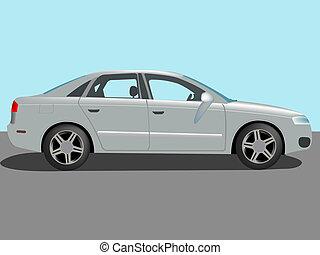 automóvel, vetorial