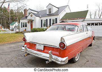 automóvil antiguo, new hampshire, estados unidos de américa