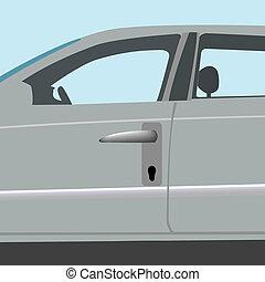 automóvil, armario