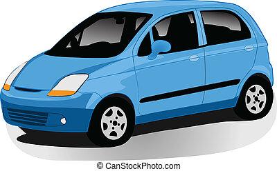 automóvil, ilustración