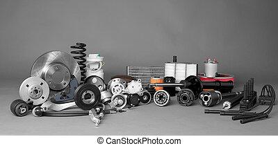 automóvil, partes